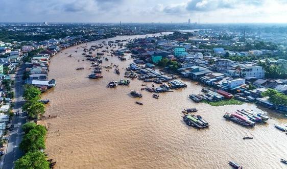 Nửa đầu tháng 7/2021: Diễn biến tài nguyên nước về đồng bằng sông Cửu Long  không biến động