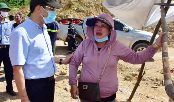 Bắt đầu tìm kiếm giai đoạn 5 các nạn nhân còn mất tích trong vụ sạt lở thủy điện Rào Trăng 3