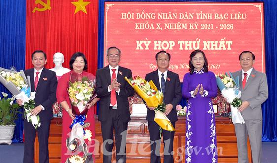 Bạc Liêu: Bí thư Tỉnh ủy đắc cử chức Chủ tịch HĐND tỉnh