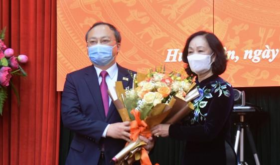 Đồng chí Nguyễn Hữu Nghĩa giữ chức Bí thư Tỉnh uỷ Hưng Yên