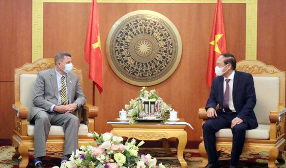 Việt Nam và Hoa Kỳ thúc đẩy hợp tác về tài nguyên và môi trường