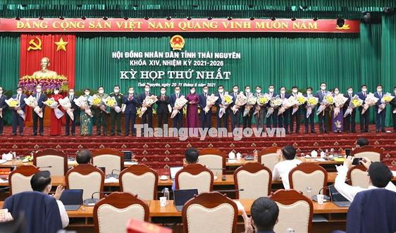 Thủ tướng Chính phủ phê chuẩn kết quả bầu Chủ tịch, Phó Chủ tịch UBND tỉnh Thái Nguyên
