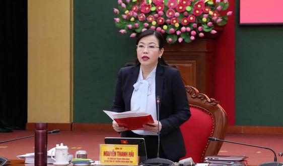 BCH Đảng bộ tỉnh Thái Nguyên: Đánh giá công tác lãnh đạo thực hiện nhiệm vụ 6 tháng đầu năm 2021