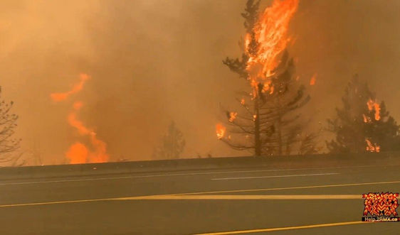 Nắng nóng gây cháy lớn ở Canada, hơn 1.000 người phải sơ tán