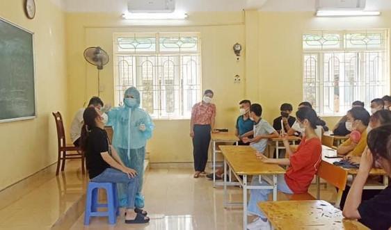 Quảng Ninh: Xét nghiệm cho gần 17 nghìn thí sinh tham gia kỳ thi tốt nghiệp THPT