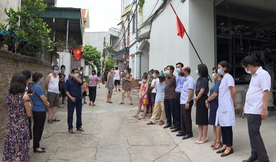 Phú Thọ: Kết thúc cách ly y tế đối với 12 hộ dân tại phố Thi Đua, TP Việt Trì