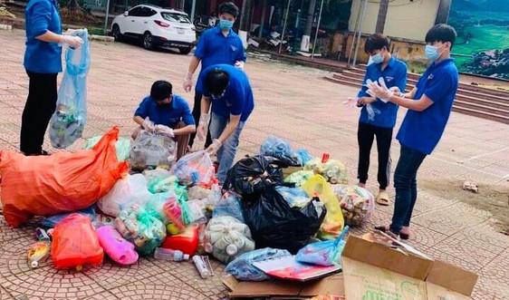Phù Yên (Sơn La): Phát động thu gom phế liệu gây quỹ tiếp sức mùa thi 2021