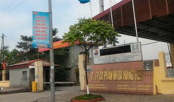 Thu hồi, chấm dứt việc sử dụng đất của Công ty Cổ phần nhựa Hưng Yên