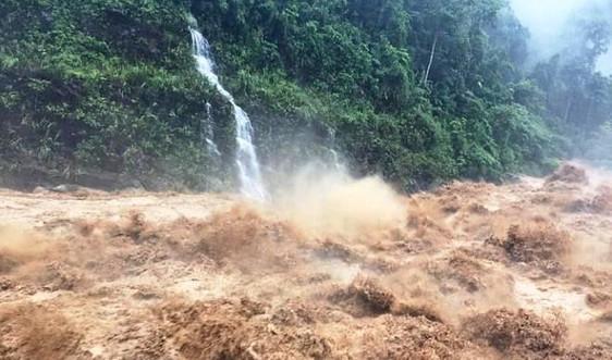 Công điện chỉ đạo ứng phó mưa lớn, lũ quét, sạt lở đất, ngập úng