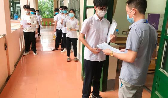 Lào Cai: Hơn 7000 thí sinh bước vào kỳ thi tốt nghiệp trung học phổ thông quốc gia năm 2021