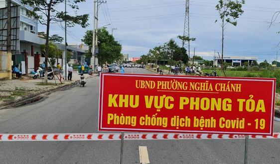 5 địa phương ở Quảng Ngãi giãn cách xã hội theo Chỉ thị 16 từ 0h ngày 8/7, vẫn tiếp tục thi tốt nghiệp THPT