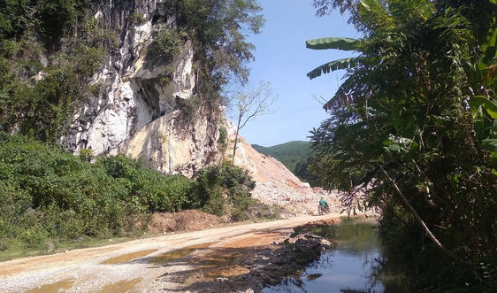 Người dân sống trong sợ hãi cạnh mỏ đá Tùng Cường: Đề nghị thu hồi một số vị trí khai thác