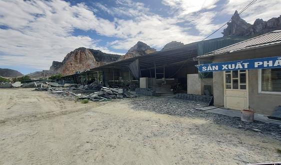 Hà Trung (Thanh Hóa): Ai để cho xưởng đá trái phép của Công ty Tam Kỳ tồn tại?