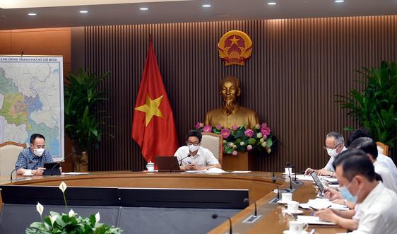 Phó Thủ tướng Vũ Đức Đam họp chống dịch với Phú Yên, Khánh Hoà