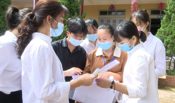 Điện Biên: Hơn 6.000 thí sinh hoàn thành kỳ thi tốt nghiệp THPT năm 2021