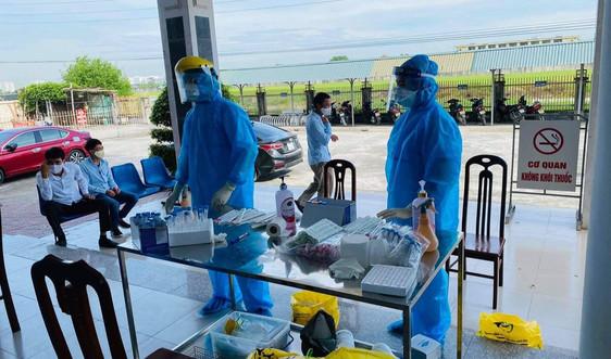 Thái Bình: Thêm gần 1.400 mẫu xét nghiệm âm tính với SARS-COV-2