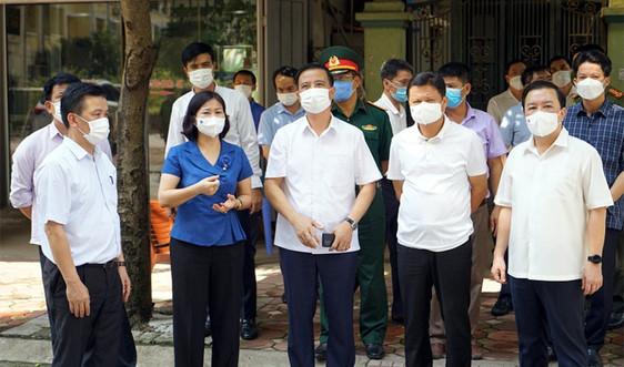 Hà Nội: Sẵn sàng phương án trong tình huống dịch Covid-19 bùng phát tại Đông Anh