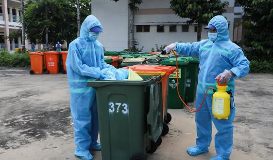 TP.HCM: Xử lý an toàn rác thải trong giai đoạn dịch bệnh Covid -19 bùng phát