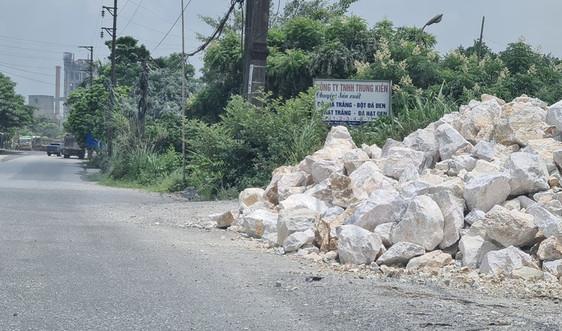 Hà Nam: Công ty Trung Kiên và Công ty Hồng Hà nghiền đá, bột đá gây ô nhiễm môi trường
