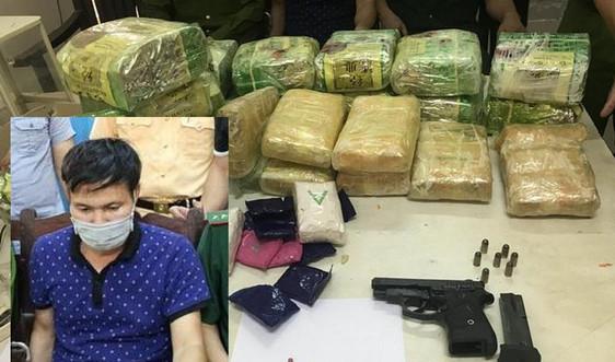 Nghệ An: Bắt đối tượng vận chuyển hơn 26kg ma túy các loại
