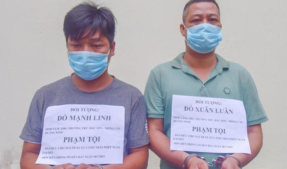 Quảng Ninh: Khởi tố 2 đối tượng đưa người xuất cảnh trái phép qua biên giới