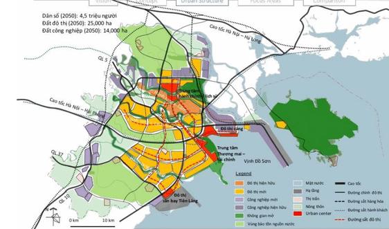 Hải Phòng: Triển khai lập Quy hoạch thành phố thời kỳ 2021 – 2030, tầm nhìn đến năm 2050