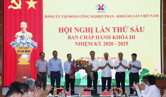 Hội nghị lần thứ 6 Ban Chấp hành Đảng bộ Tập đoàn TKV khoá III, nhiệm kỳ 2020 - 2025