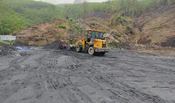 Quảng Nam: Tăng cường thanh tra việc chấp hành pháp luật TN&MT trong khai thác than