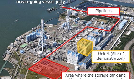 Nhật Bản đốt than với amoniac để cắt giảm khí thải