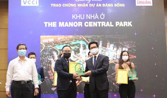 The Manor Central Park tiếp tục được vinh danh dự án đáng sống