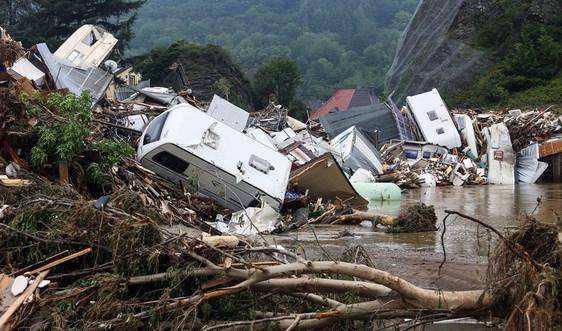 Gần 170 người thiệt mạng ở Đức và Bỉ do lũ lụt kinh hoàng