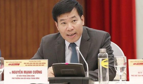 Bộ Chính trị điều động, chỉ định ông Nguyễn Mạnh Cường giữ chức Bí thư Tỉnh uỷ Bình Phước