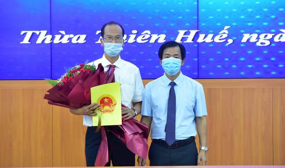 Ông Hoàng Việt Trung giữ chức Giám đốc Trung tâm Bảo tồn di tích Cố đô Huế