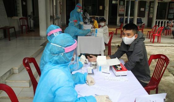 Quảng Trị: Khảo sát nhu cầu về quê phòng dịch của người dân