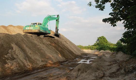 Yên Bái: Đình chỉ hoạt động 18 bến bãi tập kết cát, sỏi