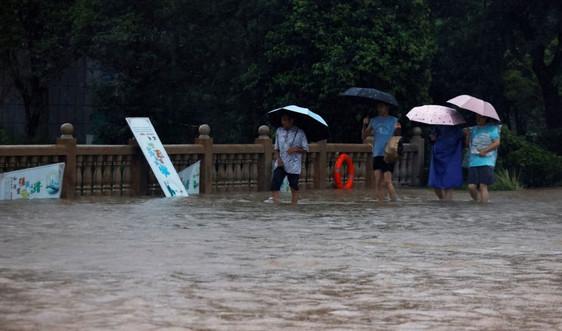 Bão đổ bộ phía Bắc Trung Quốc sơ tán hàng chục nghìn người