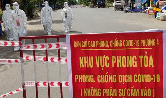 Ghi nhận 1.017 ca nhiễm SARS-CoV-2, toàn tỉnh Phú Yên thực hiện giãn cách xã hội theo Chỉ thị 16