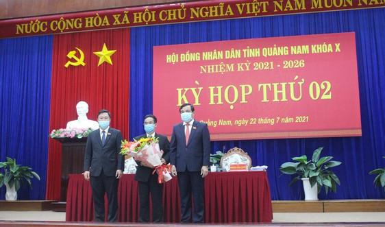 Ông Trần Anh Tuấn được bầu giữ chức Phó Chủ tịch UBND tỉnh Quảng Nam