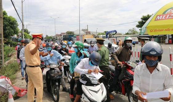 Người từ Đà Nẵng vào Quảng Nam phải cách ly tập trung ít nhất 7 ngày