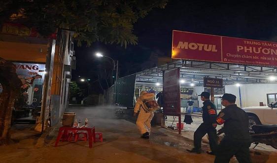 Quảng Bình: Thành phố Đồng Hới thực hiện giãn cách theo Chỉ thị 15