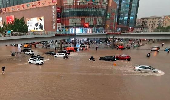 Nhật Bản có thể gián đoạn sự kiện Olympic do bão In-fa