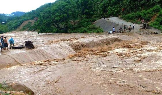 Thanh Hóa: Mưa lũ gây sạt lở ở nhiều xã huyện biên giới Mường Lát