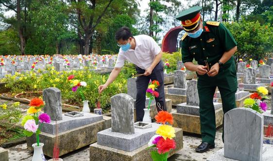 Thừa Thiên Huế: Nhiều hoạt động kỷ niệm 74 năm Ngày thương binh, liệt sỹ