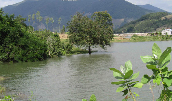 Bình Định thực hiện cải tạo lòng hồ Tà Niêng