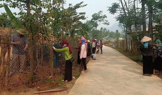 Mai Sơn - Sơn La: Lan tỏa phong trào hiến đất làm đường nông thôn mới