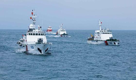Công tác tuần tra, kiểm tra, kiểm soát trên biển của Cảnh sát biển Việt Nam