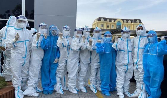 Hà Tĩnh: Chi viện 31 cán bộ y tế cho tỉnh Bình Dương chống dịch COVID-19