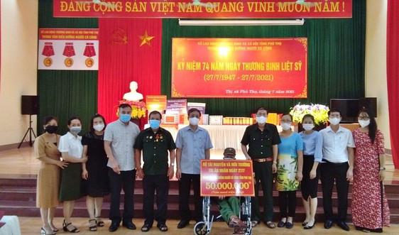 Công đoàn Bộ Tài nguyên và Môi trường tri ân người có công tại tỉnh Phú Thọ