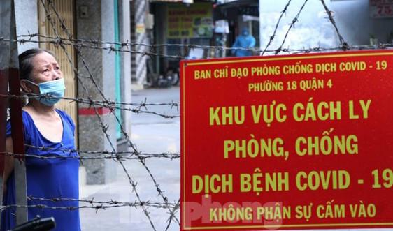 TP.HCM: Yêu cầu xử phạt nghiêm vi phạm tại các khu phong tỏa