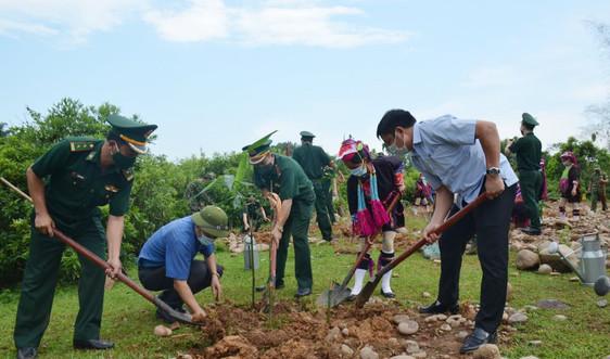 Quảng Ninh: Phát động phong trào trồng tre bảo vệ biên giới